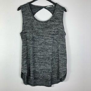 Athleta Knit Tank Top Open Back Sleeveless Soft